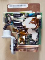旧型AirMac Expressの電源ユニットを目視確認